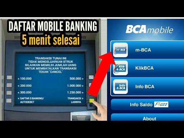 Cara Daftar Mobile Banking Bca Mudah 5 Menit Selesai Mbanking Mbca Youtube