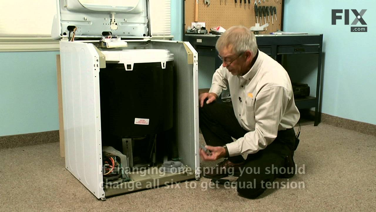 Maytag Washer Repair How To Replace The Suspension