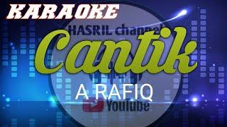 Karaoke cantik - A rafiq