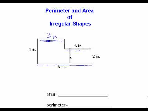 Perimeter and area of an irregular polygon youtube perimeter and area of an irregular polygon ccuart Gallery