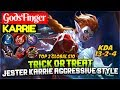 Trick or Treat  Jester Karrie Aggressive Gameplay  GodsFinger Karrie