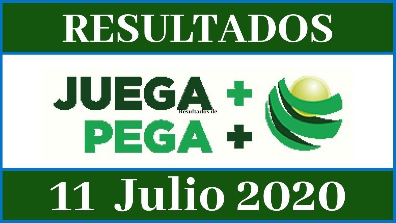 Resultados de la loteria Juega Mas Pega Mas de hoy 11 de julio del 2020