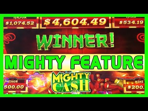 👅💰 A MIGHTY Feature on MIGHTY CASH ✦ Slot Machine Pokies w Brian Christopher