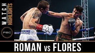 Roman vs Flores Highlights: PBC on Showtime - June 16, 2018