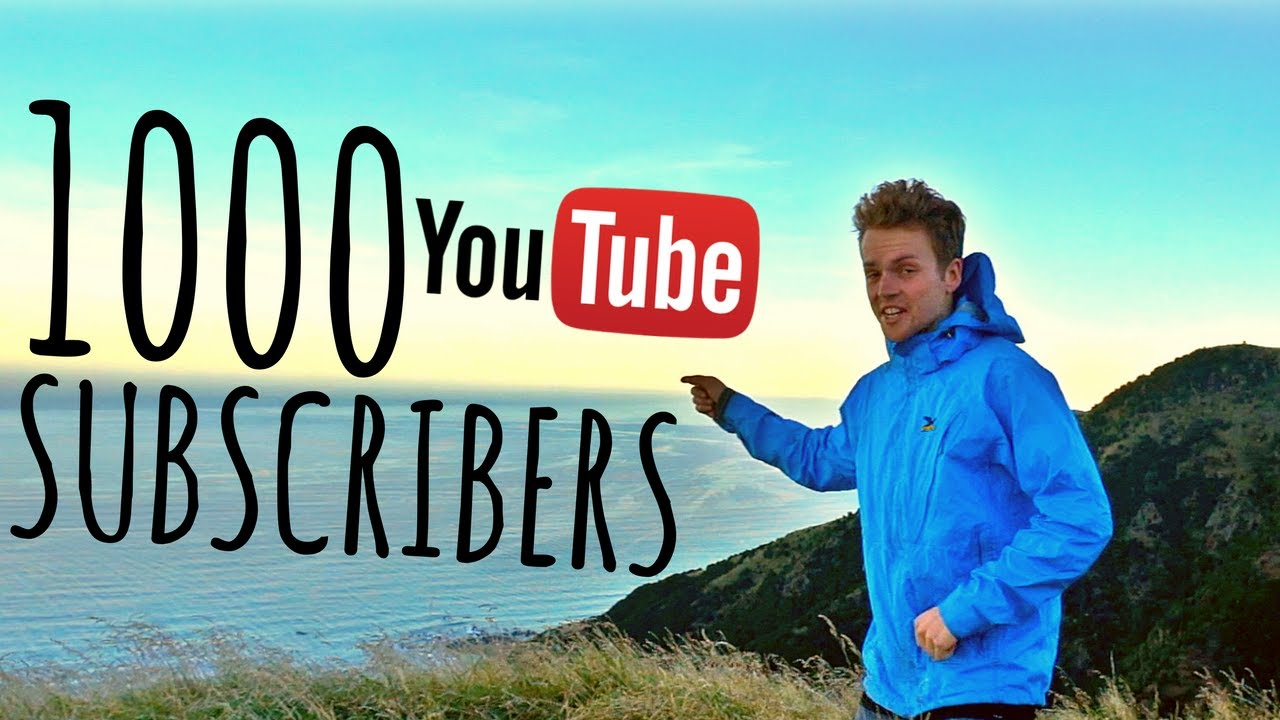 How To Get 1000 YouTube Subscribers (The Hard Way)