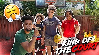 EXTREME MINI HOOP KING OF THE COURT 😨WONT BELIEVE WHAT HAPPENED ⚠️