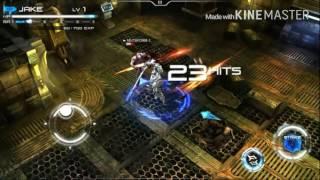 Т-тешка играет в новую игру на смартфоне: Implosion!!!