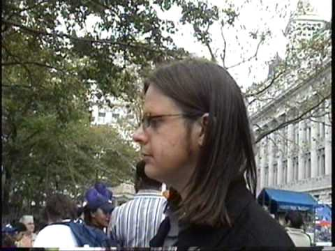 NCFM-NY goes to a Domestic Violence Rally in NYC, 2003