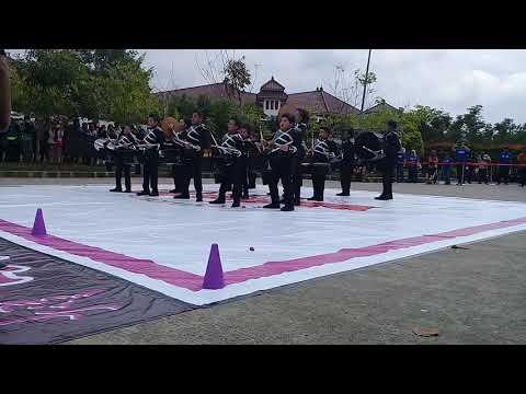 DB Gita caraka cendrawasih jakarta marching cat 2017