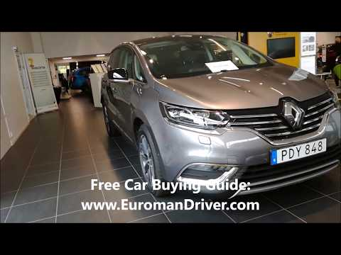 Renault Espace Seven Seater mpv 2018 with Euroman Driver Test Driving Best Family cars