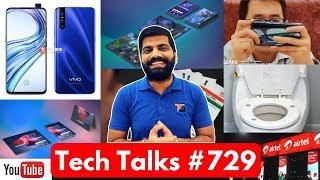 Tech Talks #729 - BSNL Wings, Vivo V15 Pro, Samsung Folding Gaming, Xiaomi Mi9, Aadhaar Leak