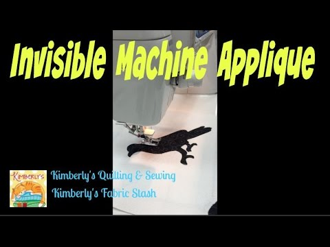 invisible machine applique