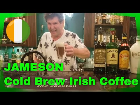 Jameson Cold Brew Irish Coffee/Irish Whiskey/It's all about the Cocktail/simple cocktails at home