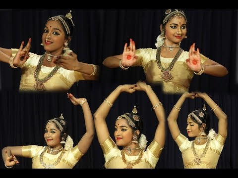 Madurai Sri N Krishnan's Compositions - Varnam first half - Sridevi Nrithyalaya - Bharatanatyam