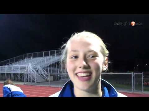 VIDEO @SaratogaSports girls Athlete of the Week: Julia McDonald, Saratoga Springs girls soccer goalk