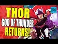 Thor Is Back As The God Of Thunder And Joins The War Of The Realms (Thor #1 Review - Fresh Start)