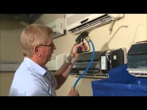 How Does Hydrokleen Clean Your Air Conditioner Youtube