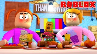 Roblox Bloxburg Thanksgiving Dinner!