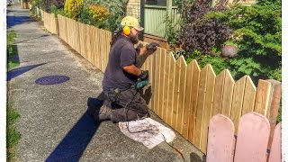 How To Build A Fence - Time Saving Installation Tricks, Ideas, Hints, Tips, Diy