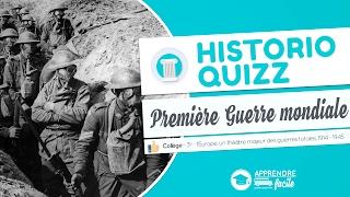 Quizz - La Première Guerre mondiale