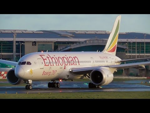 Plane Spotting at Dublin Airport | 3rd January 2018 #StormEleanor