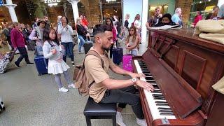 Wedding Dress By Taeyang At London St Pancras Piano