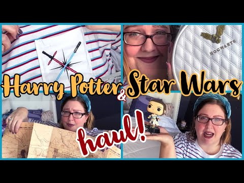 HAPPY POTTER ⚡& STAR WARS 💫 HAUL! (January 2020) | MY BIGGEST/LONGEST HAUL YET?!