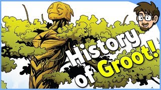 History of Groot! [Guardians of the Galaxy]
