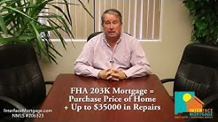 FHA 203K Home Improvement Loans