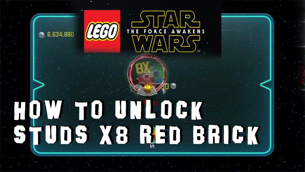 <b>Lego Star Wars</b>: The <b>Force Awakens</b> - How to Unlock Studs X8 Red ...