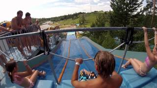 Water Park Fun - Gopro Serena Outdoor Slides - Finland
