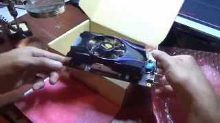 geforcegt630 2gb nvidia ddr2 pci express video graphics card unboxing and full install tutorial