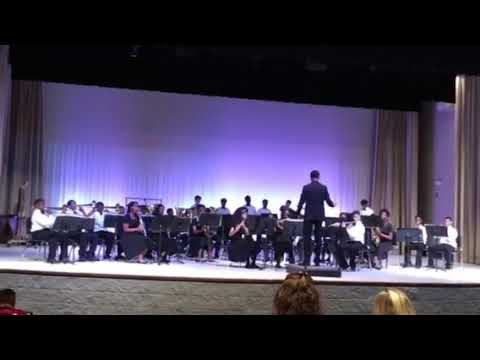 "Palmer Pillans Middle School Band performs ""Adamant"" by Larry Clark"