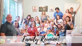 FAMILY REUNION! | THE BANK HOLIDAY VLOG #48 | CARLY ELLEN