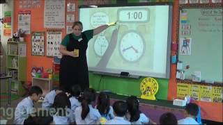 Grade 1 Math Lesson - Telling Time to the Hour
