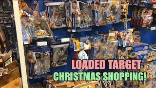 WWE ACTION INSIDER: Target Christmas Shopping for MATTEL Elite Wrestling Figures! E32 B43