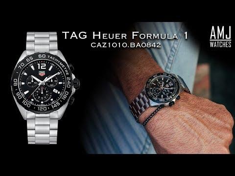 167678dd1 TAG Heuer Formula 1 Chronograph (CAZ1010.BA0842) Showcase - YouTube