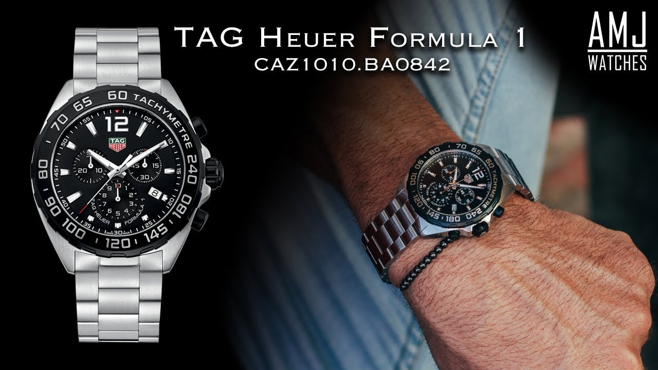 Tag Heuer Formula 1 Chronograph Caz1010 Ba0842 Showcase Youtube