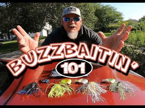 How To Fish With A Buzzbait