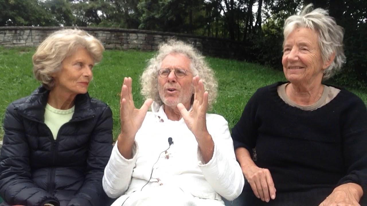 Rainer Langhans (mit Brigitte Streubel + Christa Ritter