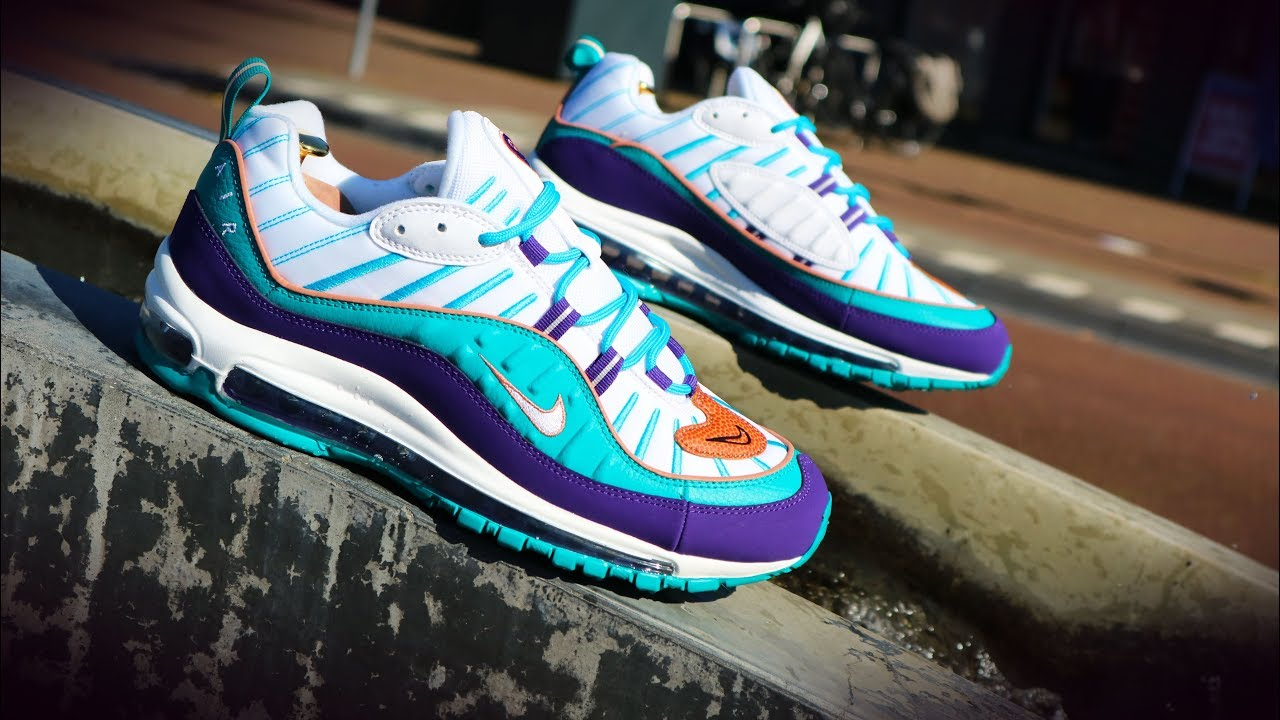 Nike Air Max 98 Hornets Unboxing Review