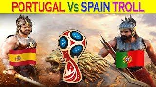 രോമാഞ്ചിഫിക്കേഷൻ മാച്ച്   Portugal Vs Spain 2018 World Cup Troll - 2018 FIFA WorldCup Russia MATCH 3