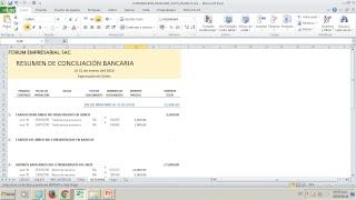 Curso Virtual Gratuito - Conciliación Bancaria en Excel