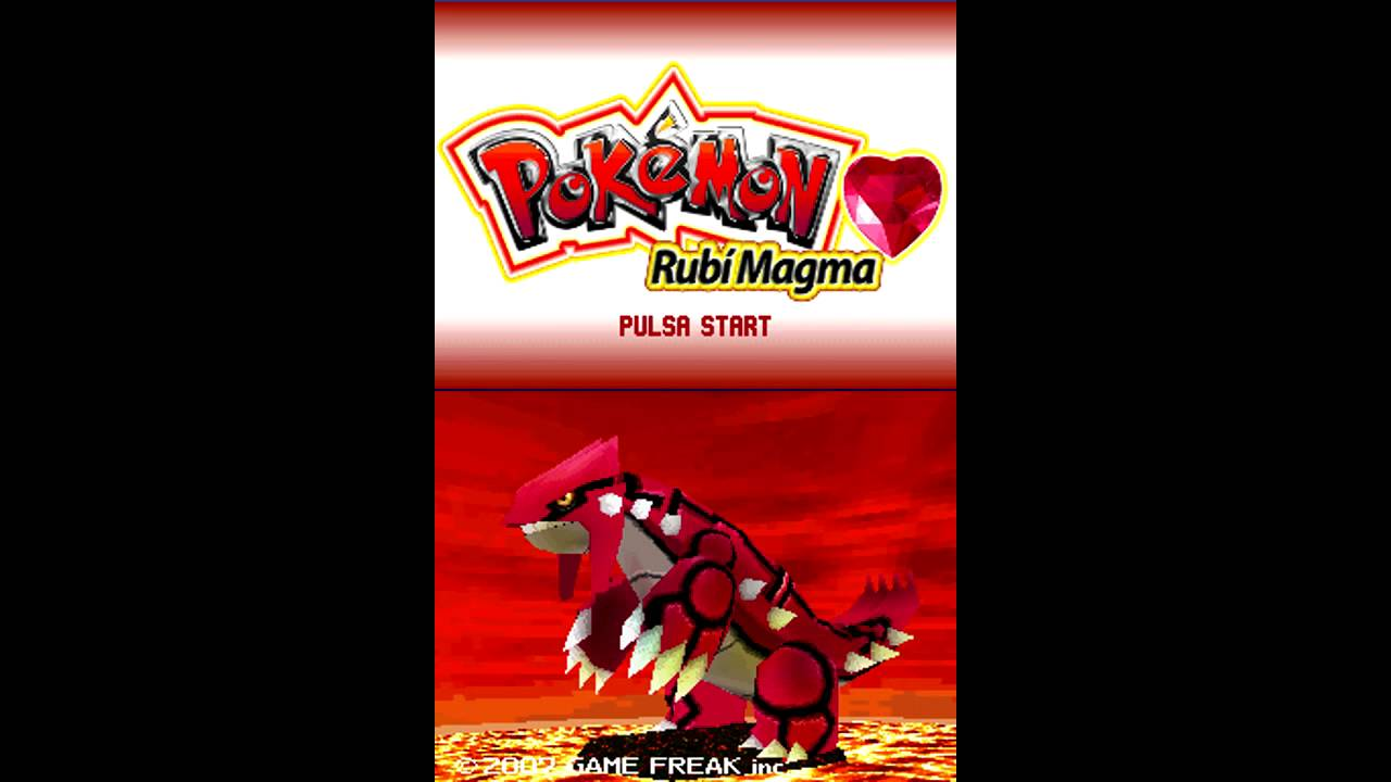 pokemon magma ruby version nintendo ds