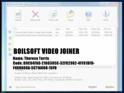 descargar boilsoft video joiner portable 5.32 en español