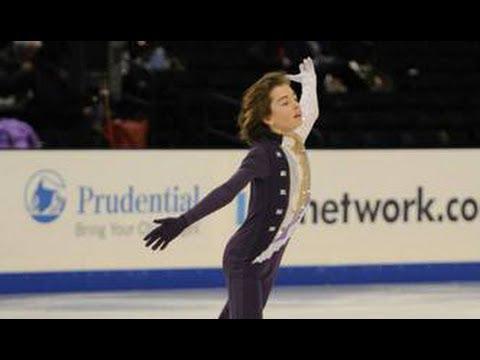 Kellen Johnson 2014 US Figure Skating Champion FS (Intermediate Men)
