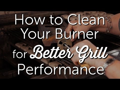 How to Clean Your Burner for Better Grill Performance | BBQ Repair