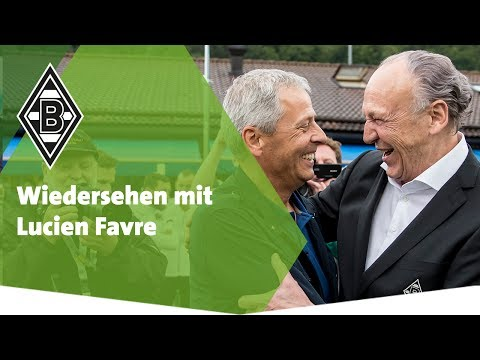 Wiedersehen mit Lucien Favre