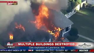 Baixar 50 HOMES DESTROYED: MAJOR Gas Explosion In Lawrence Massachusetts