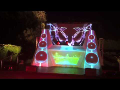 Barracuda Dj Booth at Playboy Mansion